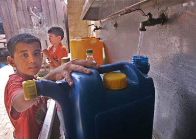 Israel: Water as a tool to dominate Palestinians (credit: Aljazeera)