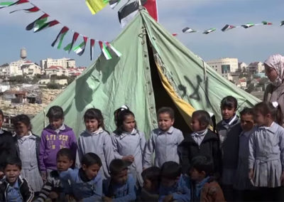 Israeli Forces Demolish Palestinian School (credit AJ+)
