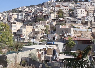 Visualizing Occupied Jerusalem — Home Demolition / Silwan Village (credit Al-Jazeera)