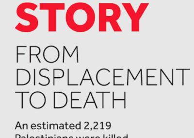 Gaza's Untold Story (Credit: Visualizing Palestine)