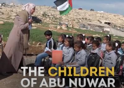 Israeli Forces Demolish Palestinian School (Credit AJ+)