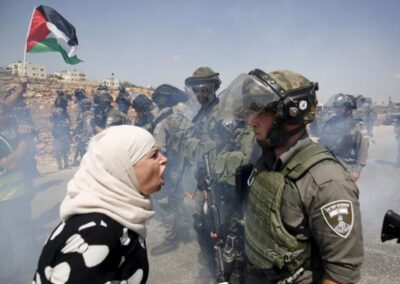 Israeli Occupation Continues to Violate the Rights of Palestinian Women (Credit: Addameer)