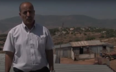 Targeted Citizen: Unrecognized Village Case (Credit:  Adalah)