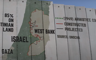 Israel's wall: Security or apartheid? (Credit: AJ+)