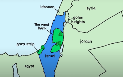 Israeli Palestinian Conflict Explained: an animated introduction to Israel and Palestine (credit: Jewish Voice for Peace)